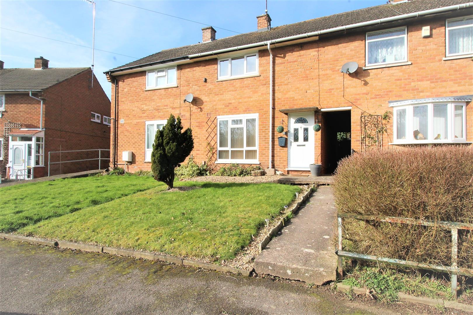 2 Bedrooms Terraced House for sale in Wharrington Close, Greenlands, Redditch